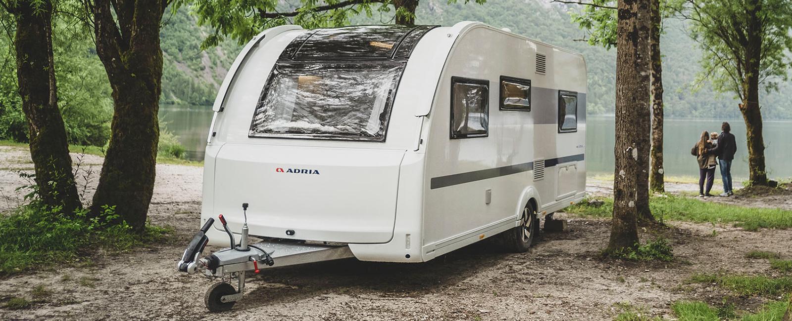 Wohnwagen Adria